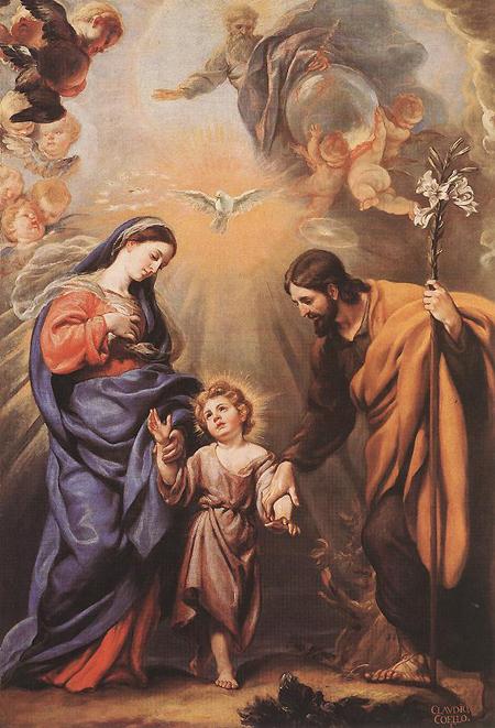 Claudio Coello: Holy Family